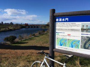 クロスバイク 荒川サイクリングロード