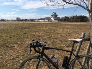 江戸川サイクリングロード 冬