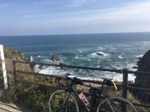 ブルべ 犬吠埼 ロードバイク 海