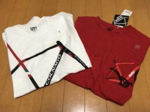 ユニクロ コラボTシャツ ロードバイク