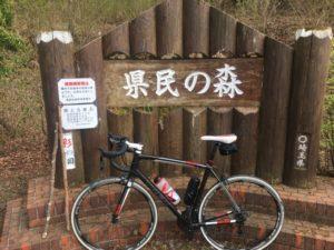県民の森 大野峠 丸山林道 ヒルクライム 自転車