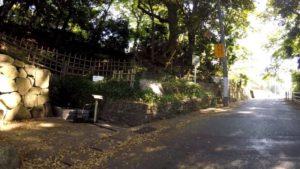 江戸川サイクリングロード 里見公園 坂