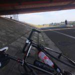 炎天下のサイクリングロードで熱中症になりかける・・