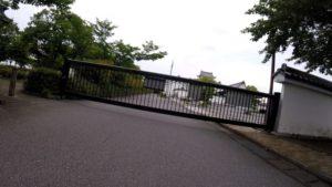 江戸川サイクリングロード 関宿城 門
