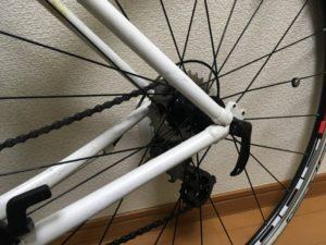 クロスバイク 自転車 ラバーペイント