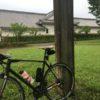 関宿 ロードバイク 雨
