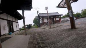 関宿 江戸川サイクリングロード 梅雨