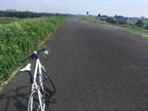 江戸川サイクリングロード クロスバイク