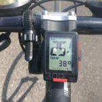 暑さに慣れるため炎天下のサイクリングロードへ