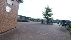境川サイクリングロード 休憩所