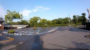 関宿 雨 江戸川サイクリングロード
