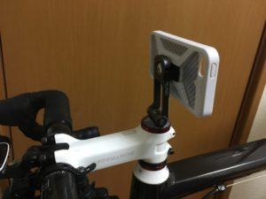 スマホ 自転車 写真 カメラ