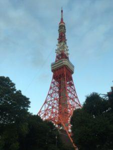 東京タワー 自転車