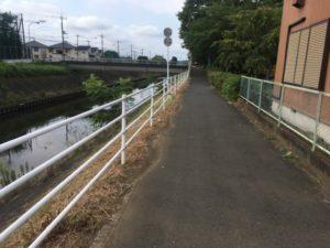 境川サイクリングロード 自転車