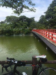 小田原城 自転車