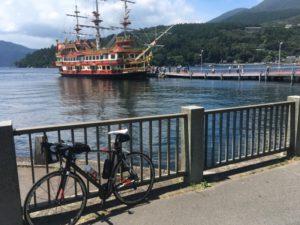 箱根 ロードバイク ヒルクライム 芦ノ湖