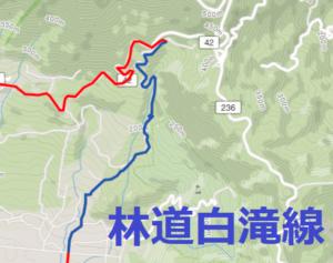 林道白滝線 筑波 ヒルクライム
