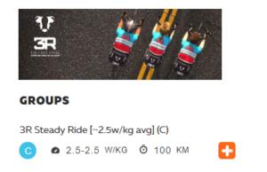 ZWIFT 100km