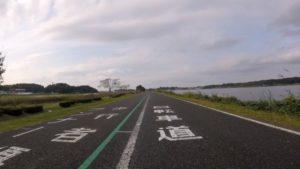 手賀沼サイクリングロード 歩行者 自転車