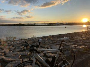 葛西臨海公園 台風19号 自転車