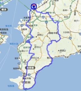 ブルべ200 ルート AJ千葉 走行会