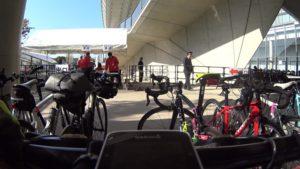 サイクルモード 2019 駐輪場