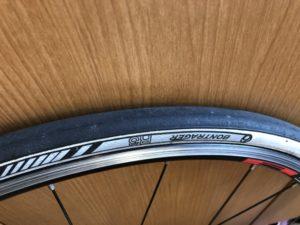 ボントレガー タイヤ クロスバイク