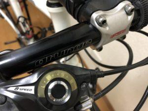 クロスバイク ハンドル交換 ESCAPE