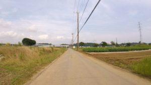 国道6号 裏道 自転車
