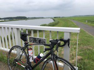 ロードバイク 手賀川