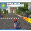 ZWIFT バーチャルツールドフランス stage6