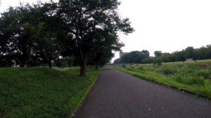 大堀川 自転車