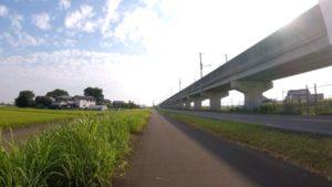 つくば 都市計画道路 守屋 自転車