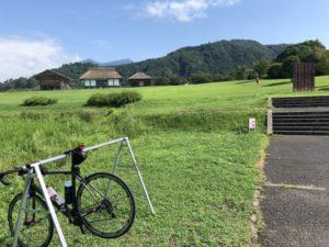 平沢官衙遺跡 自転車