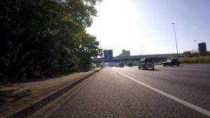 国道14号 ロードバイク
