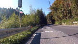 うぐいすライン ロードバイク