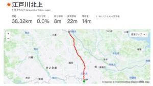 江戸川サイクリングロード セグメント