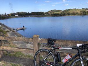 高滝湖 ロードバイク