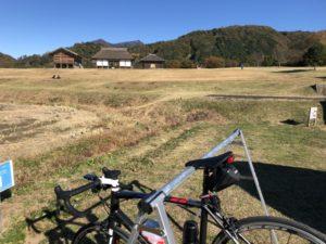 平沢官衙遺跡 ロードバイク