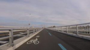 行徳橋 自転車