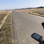 手賀沼サイクリングロードへ