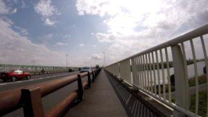 江戸川サイクリングロード 国道6号 橋