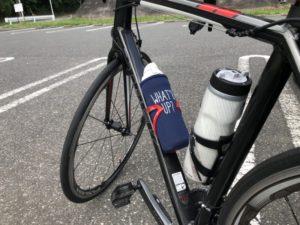 夏 ロードバイク ボトル