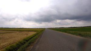 手賀沼 ロードバイク 雨
