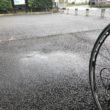 雨 ロードバイク 夏