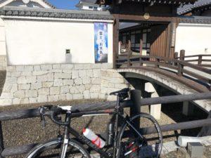 江戸川サイクリングロード 関宿城 自転車