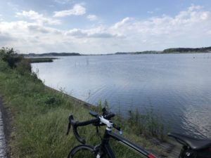 手賀沼サイクリングロード 自転車