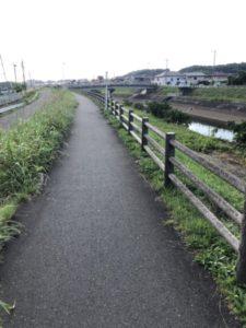 坂川 ロードバイク